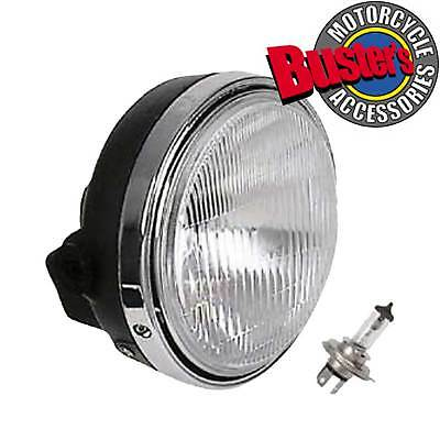 Motorcycle 7 Inch Round Halogen Headlight 12V60/55W H4