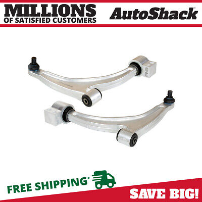 2 Front Lower Control Arm W/ Bushings And Ball Joints Left & Right Side Pair Kit