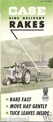 Farm Equipment Brochure - Case - 170 series - Side Delivery Rakes (F1020)