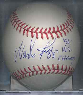 Wade Boggs 1996 WS CHAMPS New York Yankees OML Autographed Signed Baseball COA