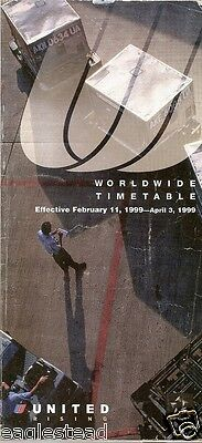 Airline Timetable - United - 11/02/99