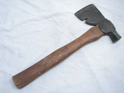 Vintage Sterling Latching Camping Hatchet Wood Tool Axe