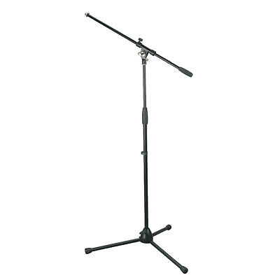 Artist MS012 Deluxe Black Boom Mic Stand - New
