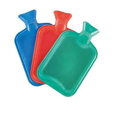 2 X Hot Water Bottles Large 2 Litre Bs New
