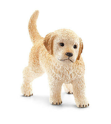 Schleich 16396 Golden Retriever Puppy Dog Model Toy New 2014 Figurine - NIP