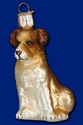 """Shepherd Puppy"" (12360) Old World Christmas Glass Ornament"