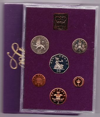 1980 Standard Proof Set Of 6 Coins