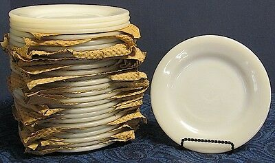 """NEW Old Stock Fire King-WHITE- Restaurant Ware 7"""" Salad Plate"""