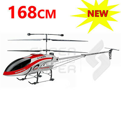 RC Huge 168cm 3.5Ch Outdoor Gyro Helicopter GT QS8008