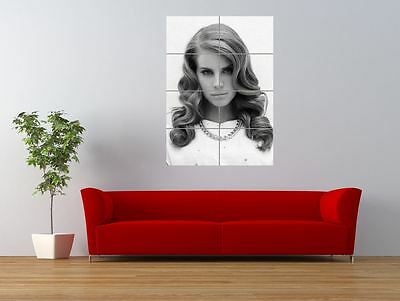Lana Del Rey Singer Songwriter Music Giant Wall Art Poster Print