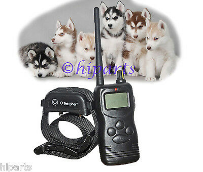 USA Waterproof 1000yd Remote Dog Training Sys. w Shock Collar Rechargeable