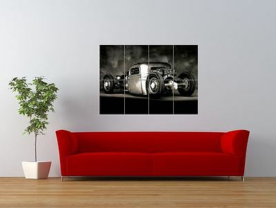 Sport Car Automobile Classic Hot Rod Cool Giant Art Print Panel Poster Nor0339