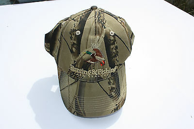 Ball Cap Hat - Hunting Fishing New Zealand - Duck Bird Camo Camouflage (H932)
