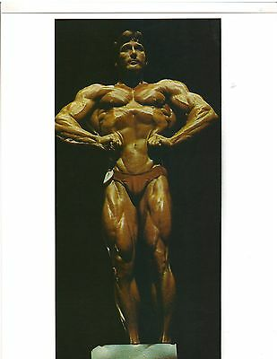 Bodybuilder Frank Zane Mr America Bodybuilding Muscle Color Photo