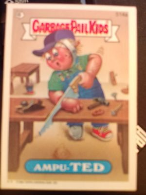 Garbage Pail Kids GPK Original Series 13 #514a Ampu-Ted NrMint-Mint
