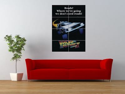 Back To The Future 2 Cult Classic Movie Giant Wall Art Poster Print