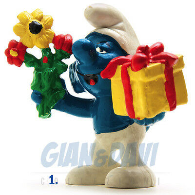 PUFFO PUFFI SMURF SMURFS SCHTROUMPF 2.0040 20040 Gift and flowers Regalo 1C