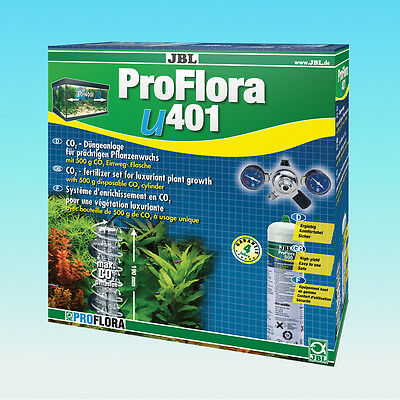 JBL ProFlora u401 - CO2 Fertilisation Set Kompletset Plante