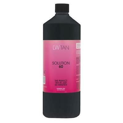 Laurens Way 1 Litre Solution 60 Rapid Spray Tanning Solution Fake Tan False Tan