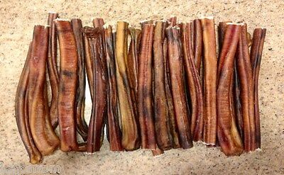 "50 - 6"" *USA MADE* Regular Beef Bully STICKS Dog Treat Chew Natural Grass Fed"
