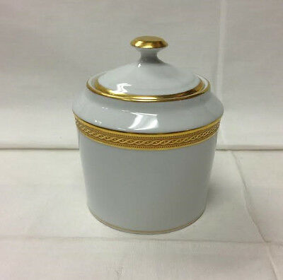 "Faberge ""Chaine D'or"" Cov. Sugar 4 1/8"" High, Made In Limoges France Brand New"