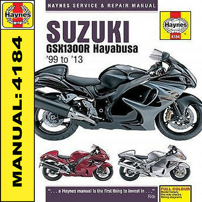 Suzuki Hayabusa GSX1300R 1999-2013 Haynes Manual NEW