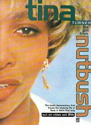 Tina Turner-1992 magazine advert