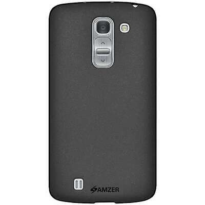 AMZER BLACK PUDDING TPU SOFT SKIN CASE BACK PROTECTOR COVER FOR LG G Pro 2 F350