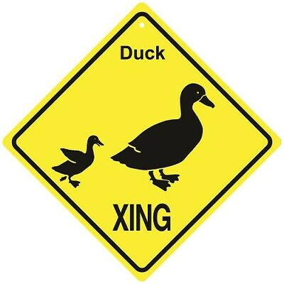 Duck Crossing Xing Sign New Made in USA