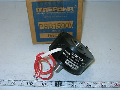 "New Magpowr PSB1590V Sofstep Magnetic Particle Clutch, 90VDC, 1/2""-Shaft"