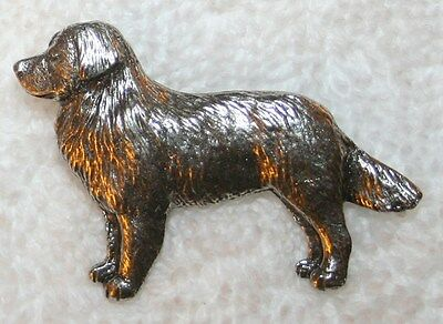 Bernese Mountain Dog Harris Fine PEWTER PIN Jewelry Art USA Made