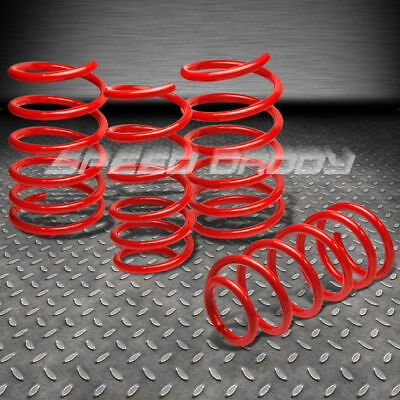 "1.9"" Drop Racing Suspension Lowering Springs Fits 95-99 Nissan Sentra B14 Red"