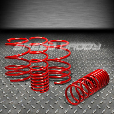 "1.1"" DROP SUSPENSION LOWERING SPRINGS/SPRING 10-13 VW GOLF GTI Mk6 R32 2.0T RED"