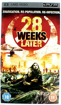 28 Weeks Later UMD Film für Sony PSP. NEU