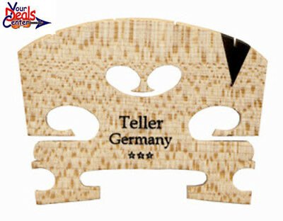 Teller *** Violin Bridge 4/4  Ebony  Insert  Fitted