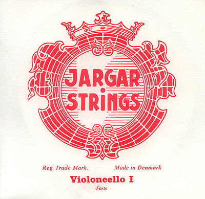 Genuine Jargar Cello  String Set 4/4 FORTE