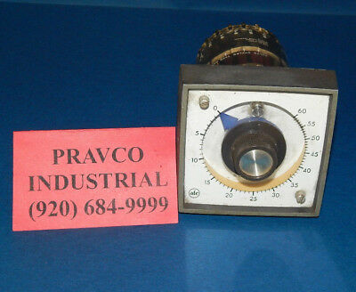 ATC Automatic Timing & Control Electronic Timer Type 323 0-60 Sec 323A007000PX
