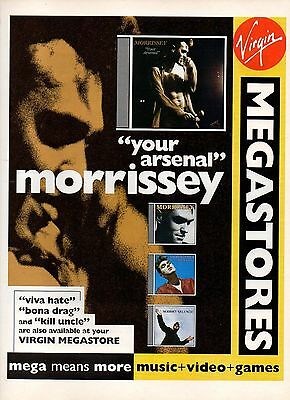 Morrissey-1992 magazine advert