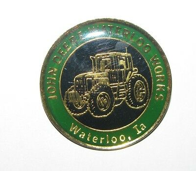 Rare Pin Badge John Deere Tractor #4 100% Original Tractor Manuals & Publications Business, Office & Industrial