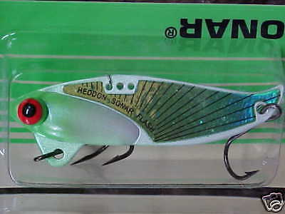 Discontinued Heddon 1//4oz Sonar Blade Flash XO431GS in GRAY SHAD Bass//Walleye
