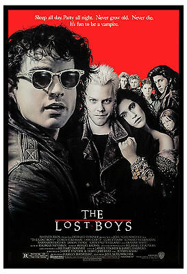 Horror: * The Lost Boys * Kiefer Sutherland USA Movie Poster 1987