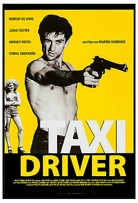 Crime: * Taxi Driver * Robert De Niro German Movie Poster 1976