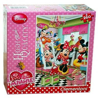Minnie Maus - Puzzle - Mouse Shopping - 260 Teile