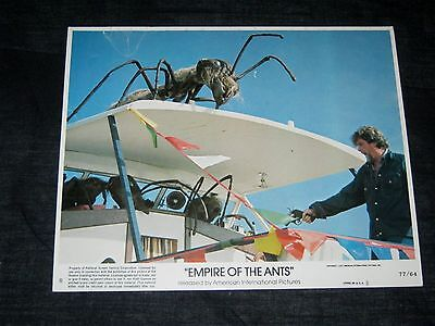 5 Original 8x10 Lobby Card Set EMPIRE OF THE ANTS H.G. Wells JOAN COLLINS