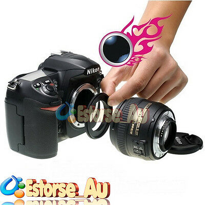 EOS 58mm Macro Reverse Adapter Ring For Canon EOS 1200D 18-55mm Lens