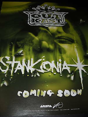 OUTKAST Stinkonia Coming Soon 2000 PROMO POSTER AD