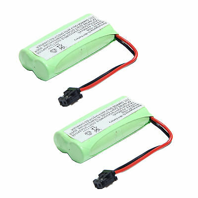 2x 2.4v 800mAh Home Phone Battery for Uniden BT-1021 BT-1025 BT-1008S WITH43-269