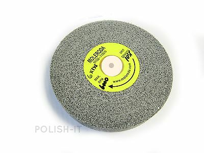 "3M LIKE DEBURRING WHEEL 6"" x 1"" x 1"" C/H - 10SF USE WITH TAPER-FELT CENTRE"