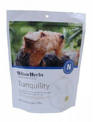 HILTON HERBS CANINE TRANQUILITY calm dog canine healthy balanced nervous system