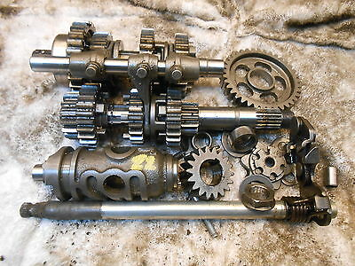 Honda Shadow Vt125 Gearbox Guts Internals Transmission Gear Box 125 99